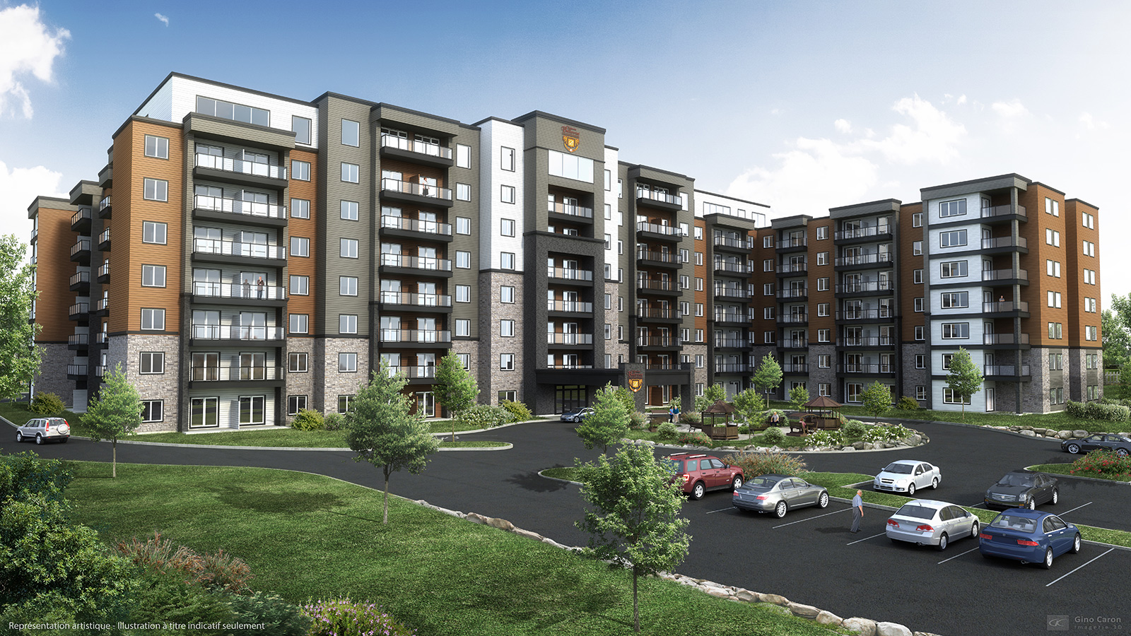 Château Bellevue Thetford Mines – senior living – project